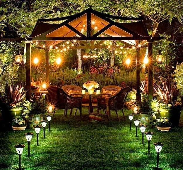 Modern Lighting Ideas And Yard Decorations