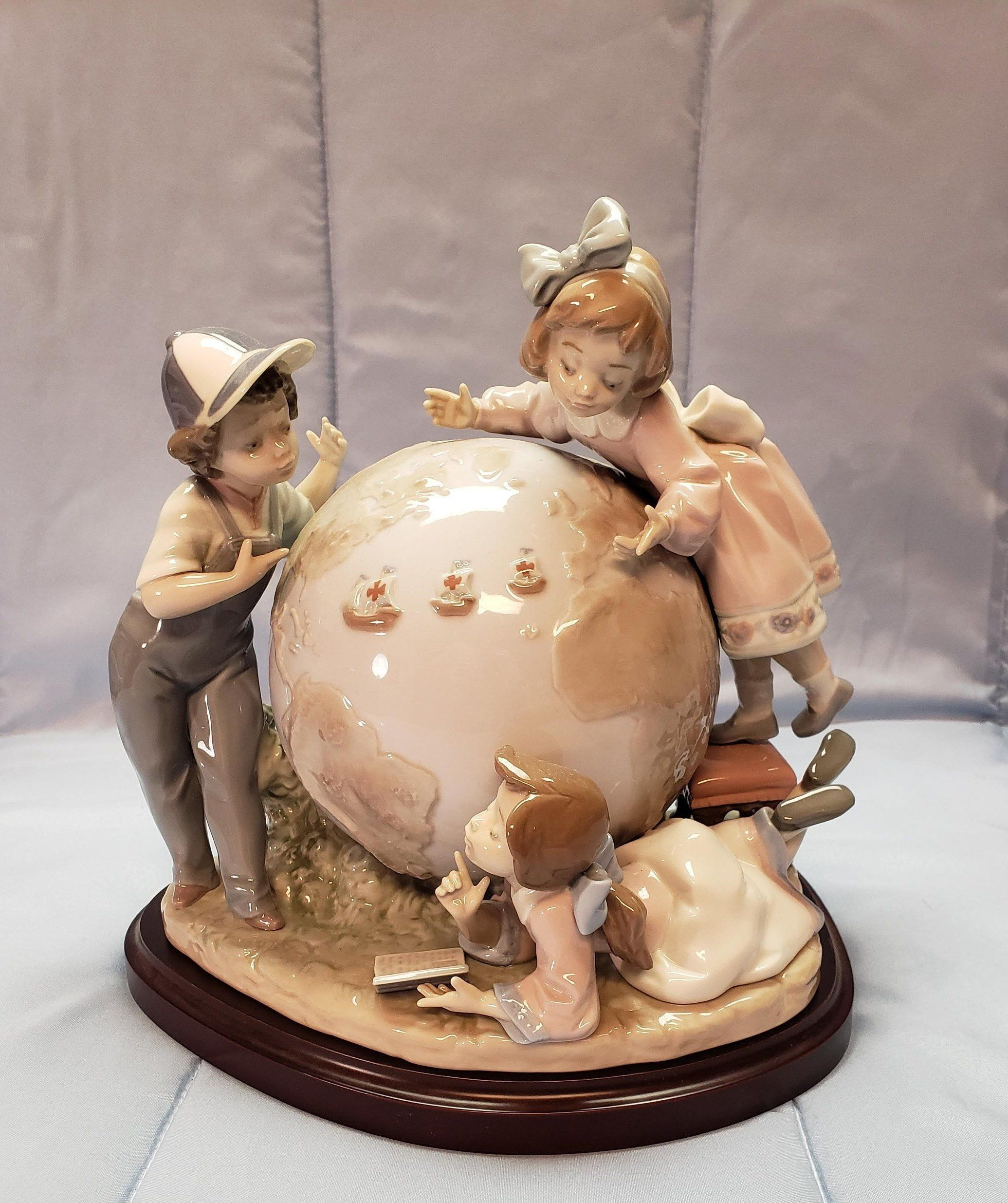 Lladro Voyage of COLUMBUS, No. 5847, RARE Limited Edition