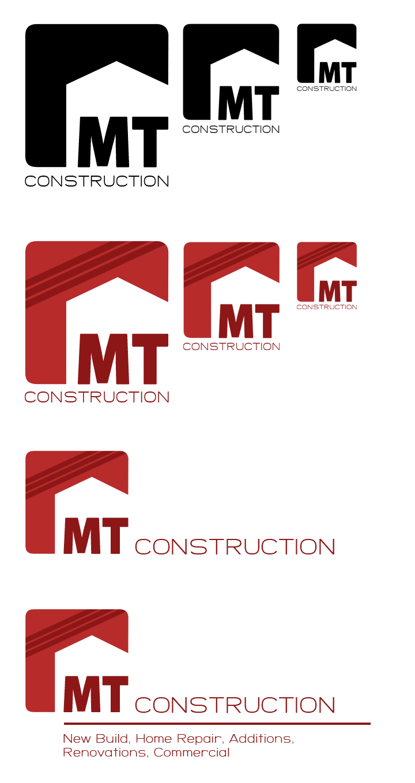 Mt construction branding design pinterest construction logo