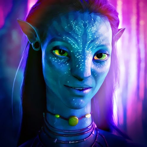 Neytiri Satisfying Another Alien In My Crush Tree