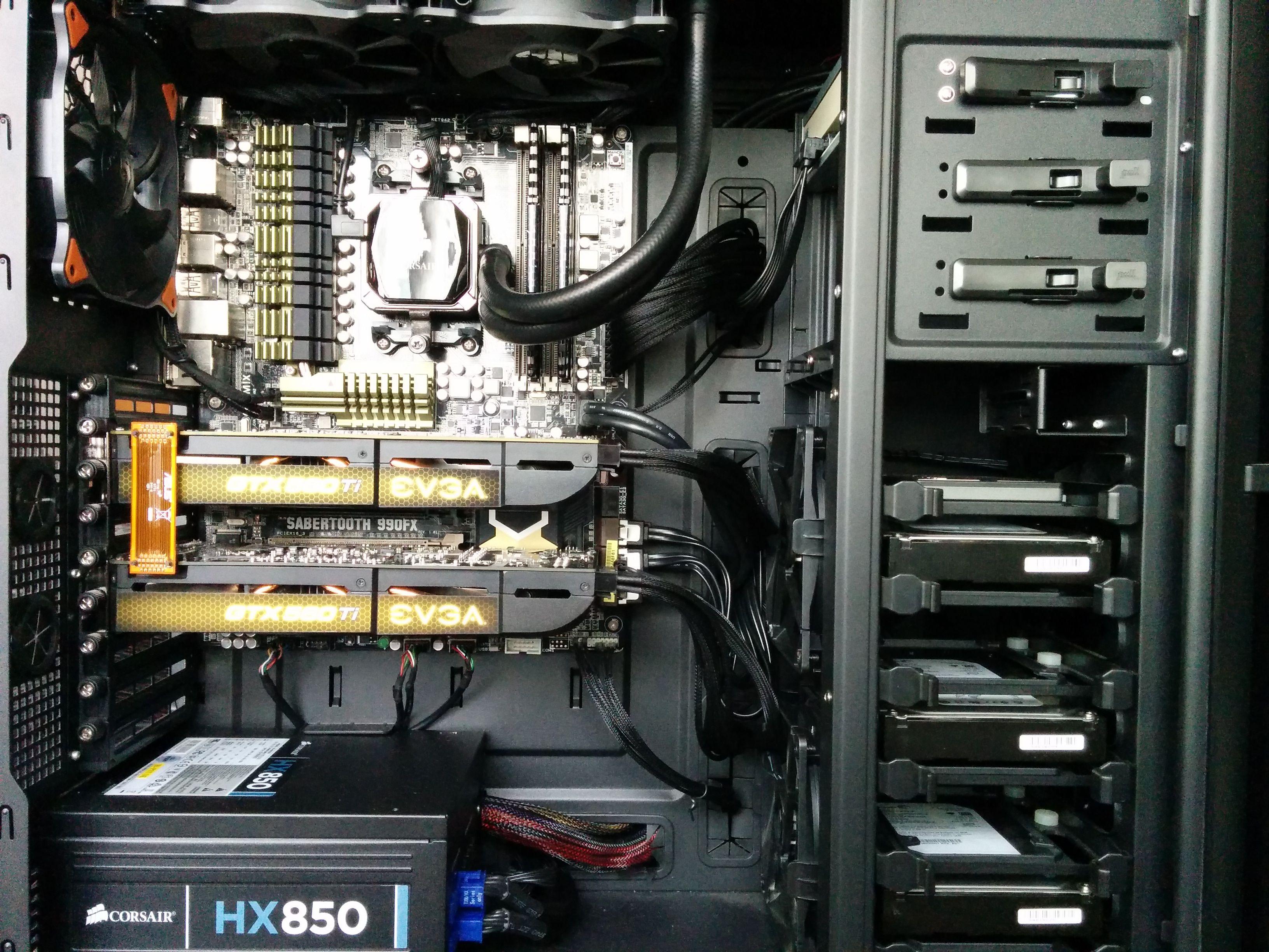 antec p280 case liquid cooling from corsair s h100i series antec p280 case liquid cooling from corsair s h100i series