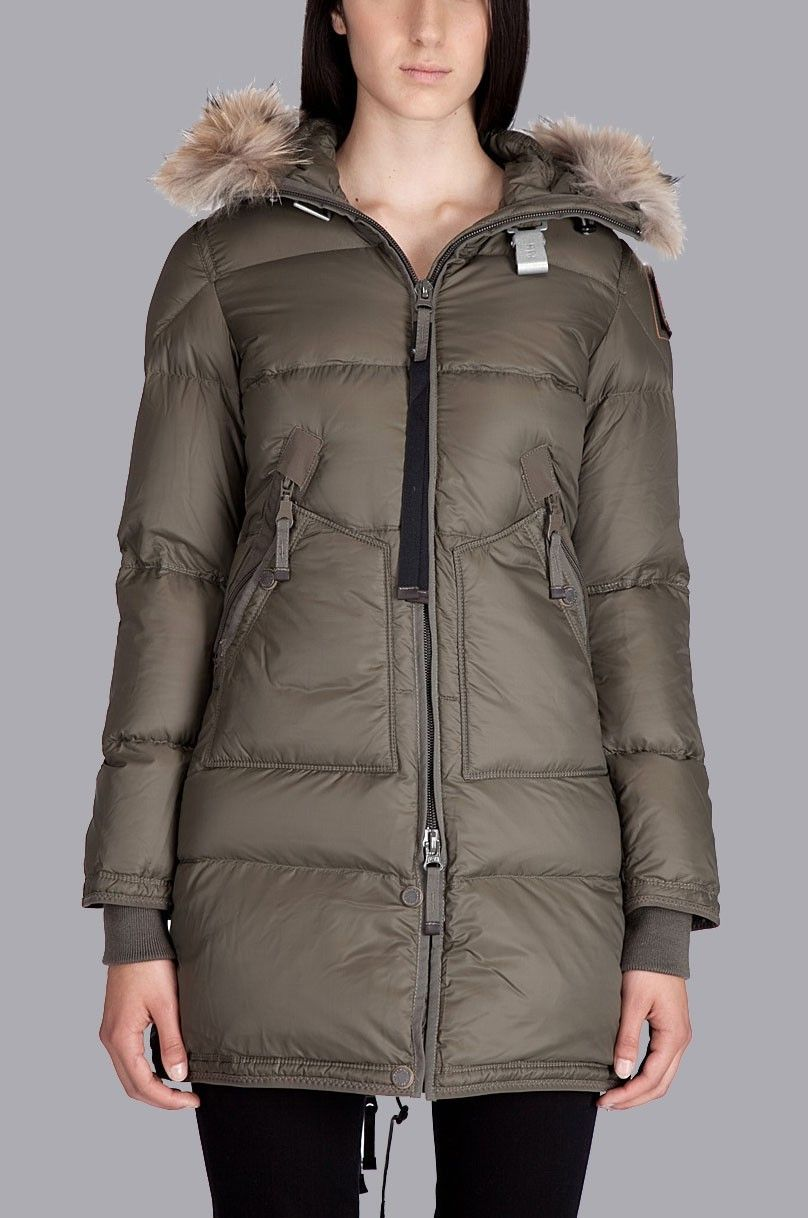 Parajumpers Light Long Bear Jacket Brown Women