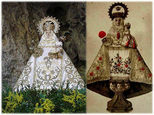 Nuestra Señora De Covadonga Salve Para Solicitar Su Protección Y Ayuda La Historia Sagrada Los Virgen De Covadonga Oracion A La Virgen Imágenes Religiosas