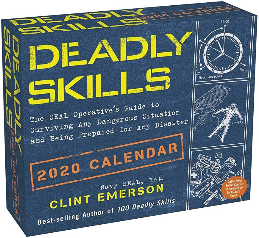 Free Ebook Deadly Skills 2020 Day To Day Calendar Author Clint