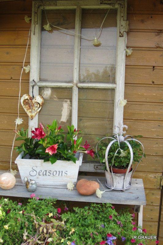 Altes fenster neu gestaltet salvage alte fenster fenster alte fenster dekorieren - Altes fenster dekorieren ...