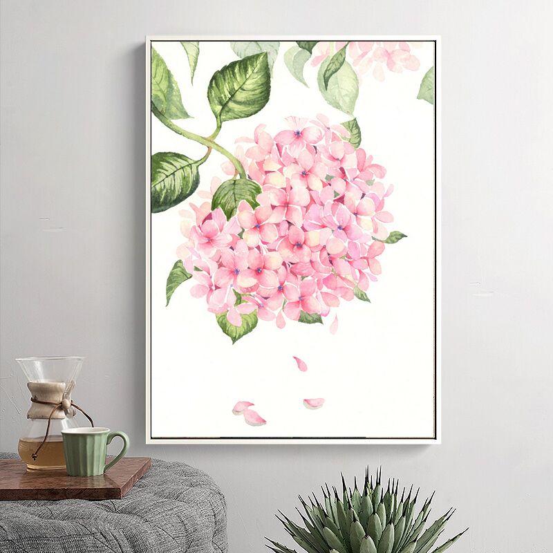 Fresh arrival Modern Watercolor Flower Canvas Paintings Nordic ...