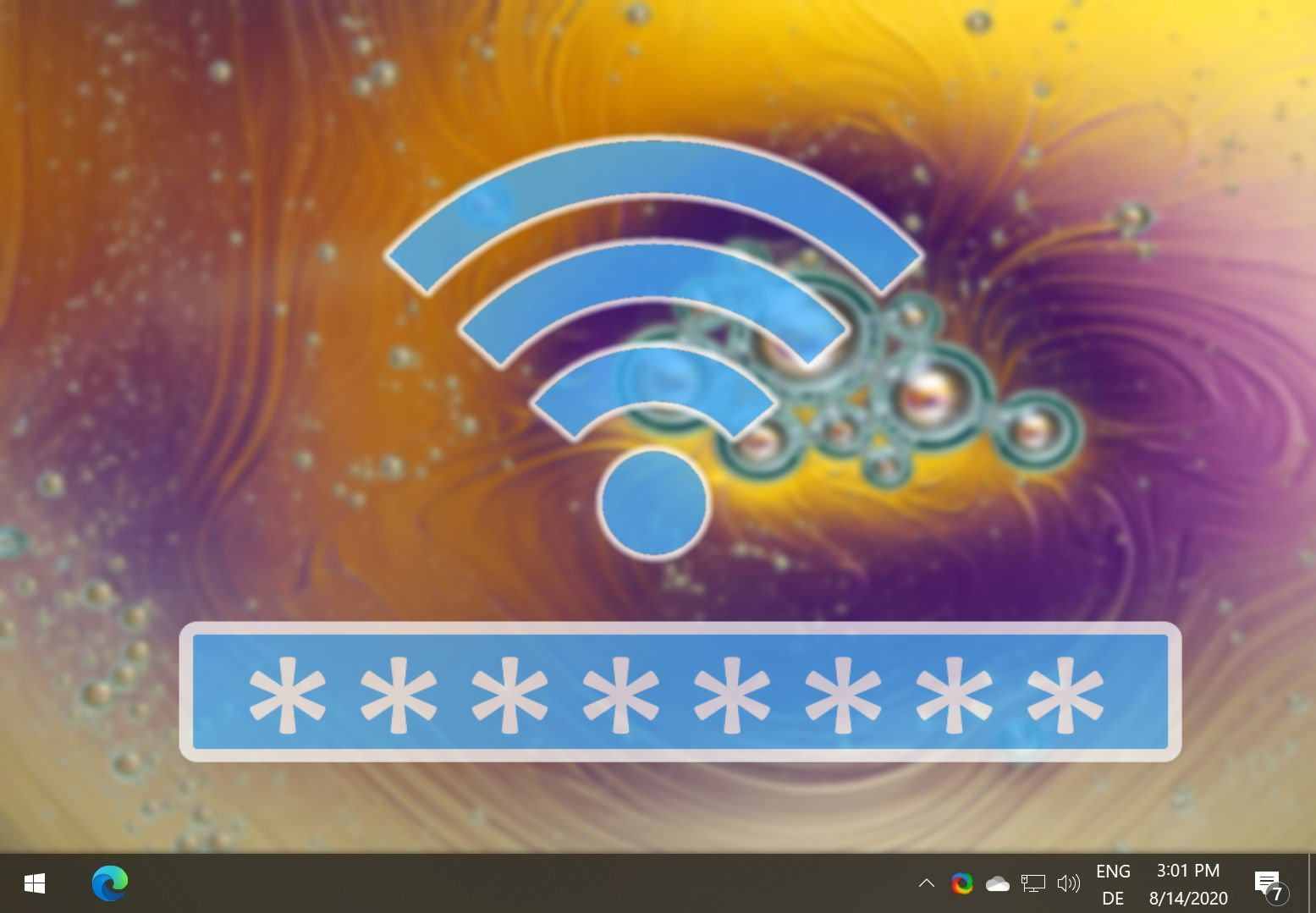 Windows 10 How To Find Your Wifi Password Network Security Key Wifi Password Network Security Wifi