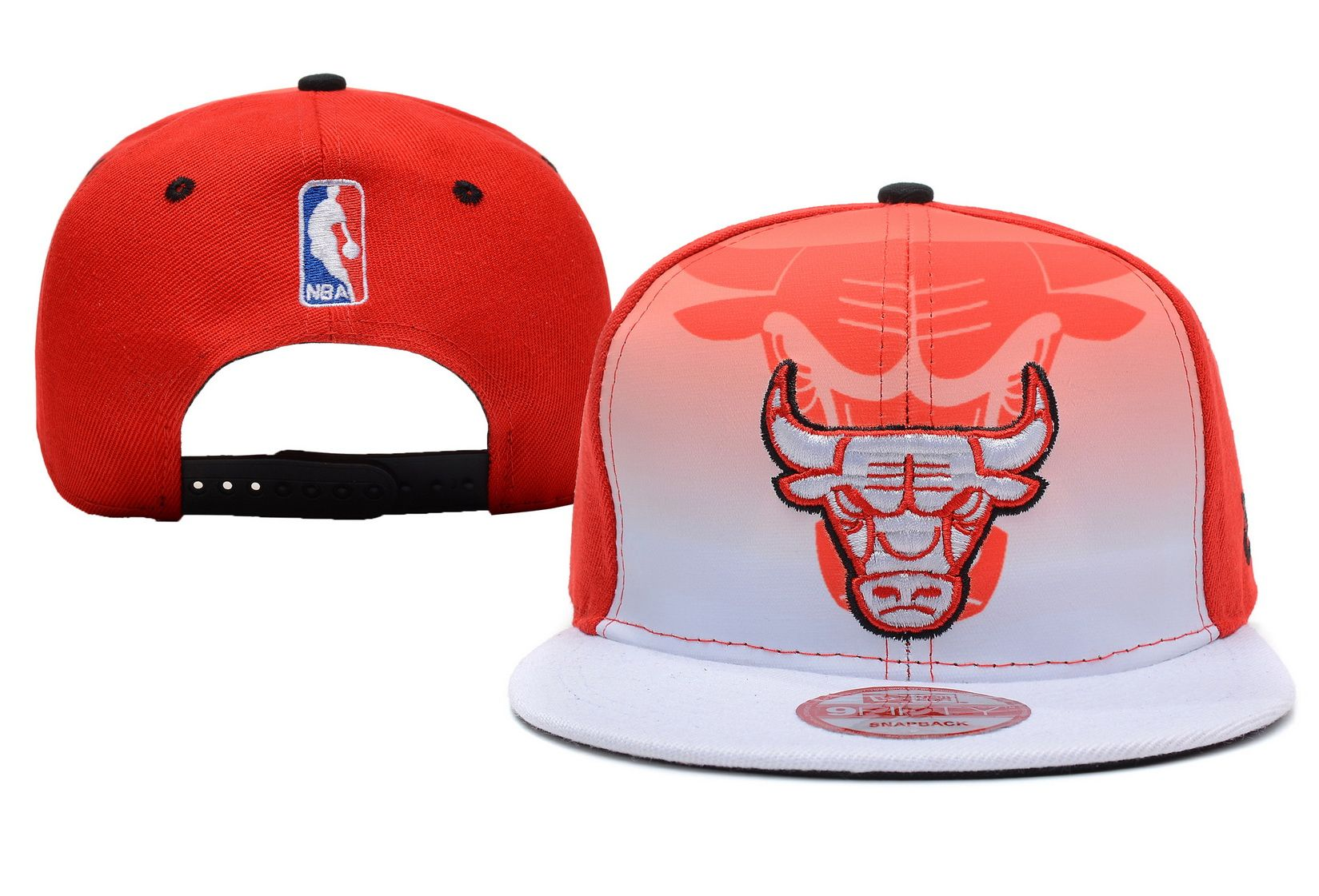 NBA CHICAGO BULLS SNAPBACK New Era White Red 912! Only $8.90USD