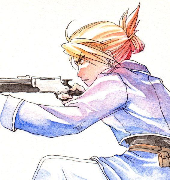 リザ ホークアイ Pixiv Id 584115 The Law Of Equivalent Exchange Fullmetal Alchemist Fullmetal Alchemist Brotherhood Anime