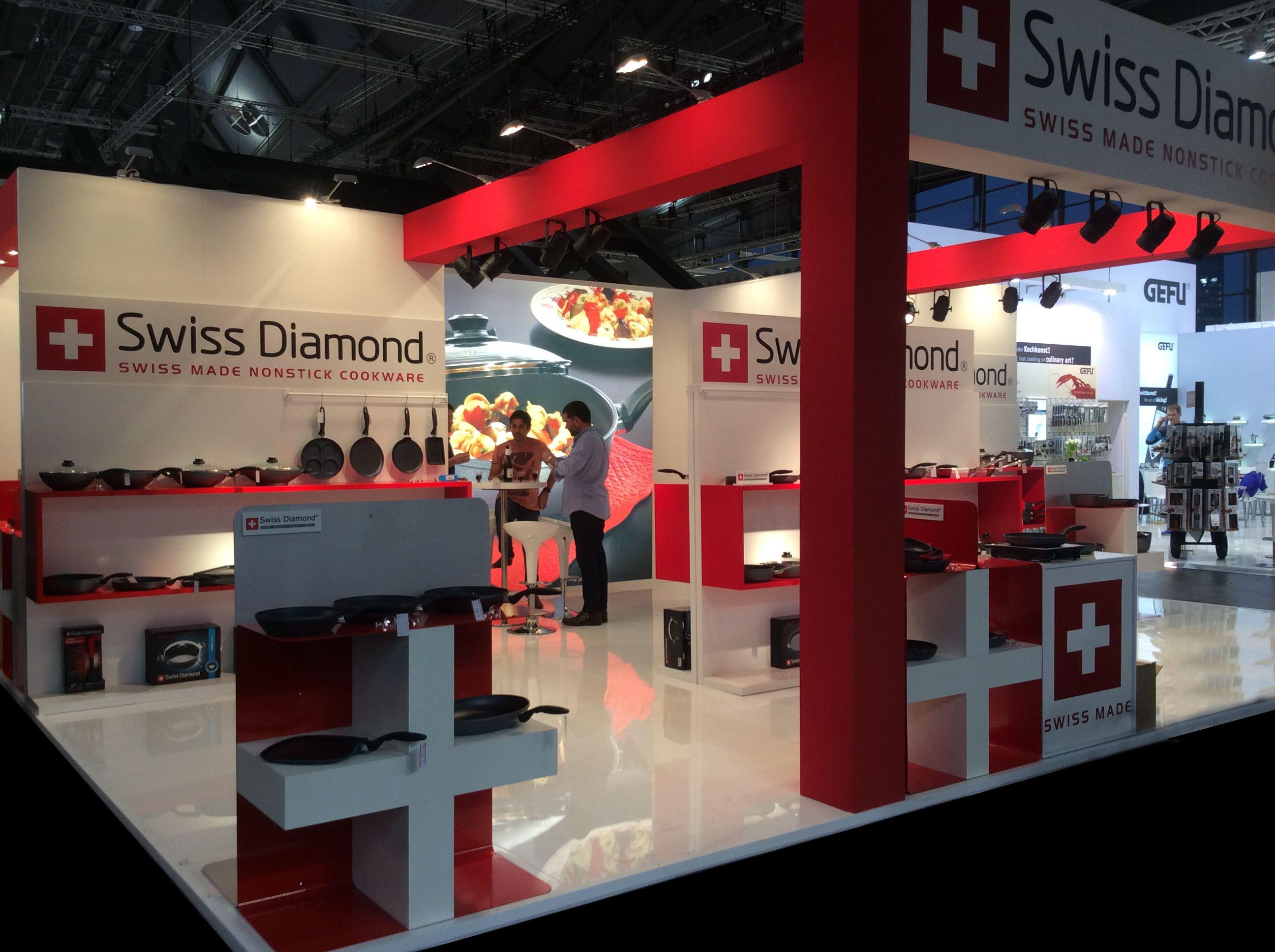 Swiss Diamond alla fiera Ambiente a Francoforte / Swiss Diamond at the Ambiente fair in Frankfurt