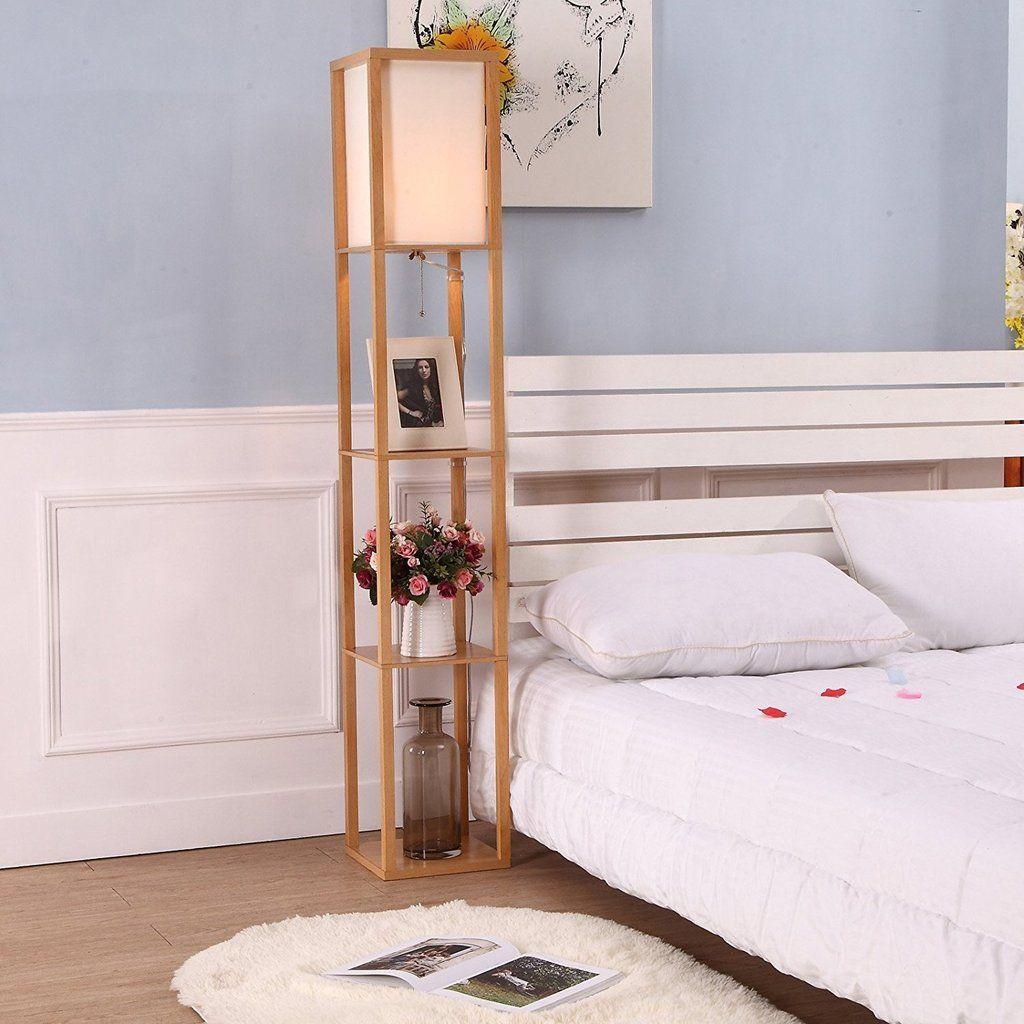 Maxwell LED Shelf Lamp Floor Standing Modern Light w