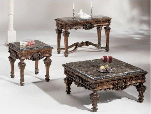 Ashley Casa Mollino Marble Top Table Set Ashley Furniture