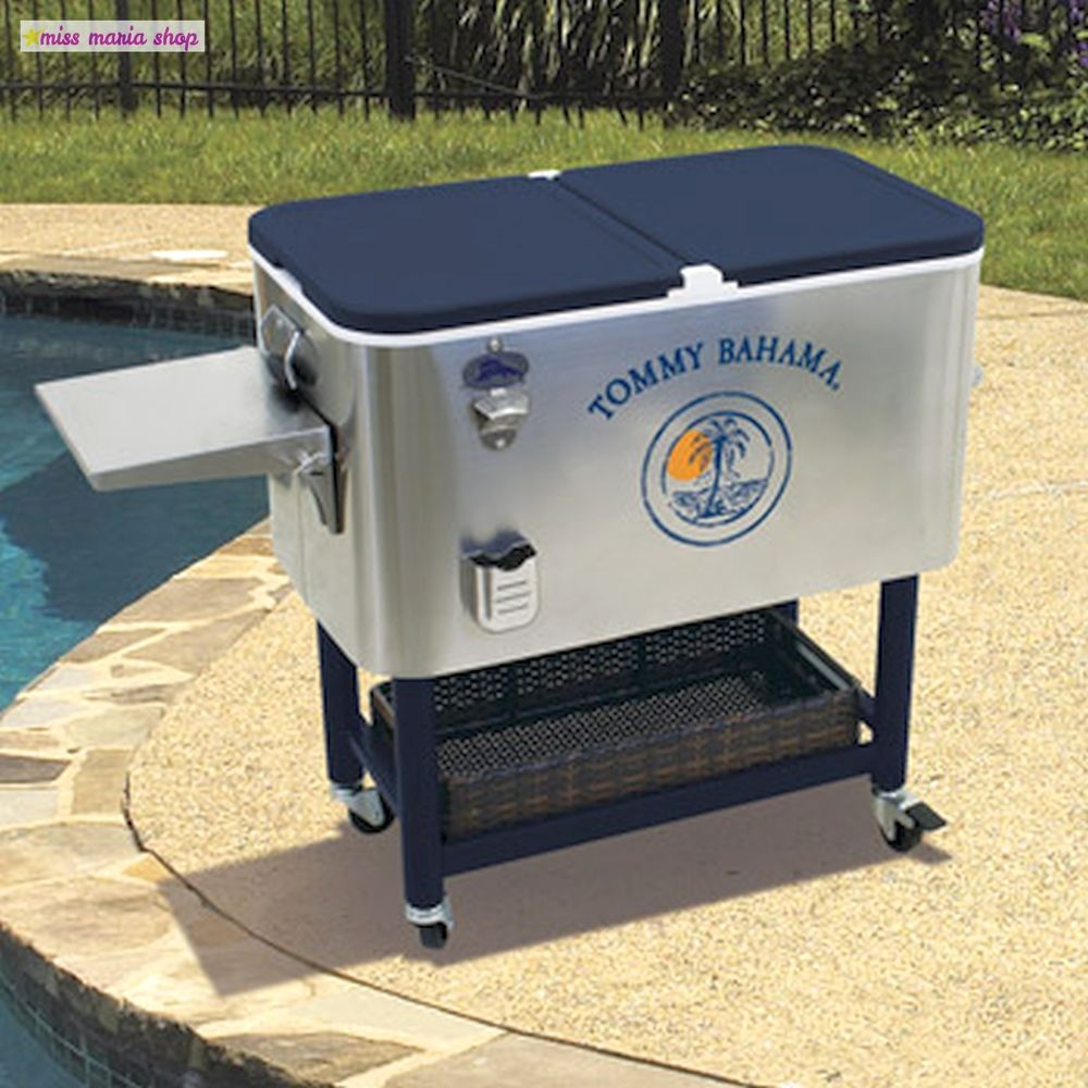 Patio Drinks Cooler Sleek Party Out In Garden Party