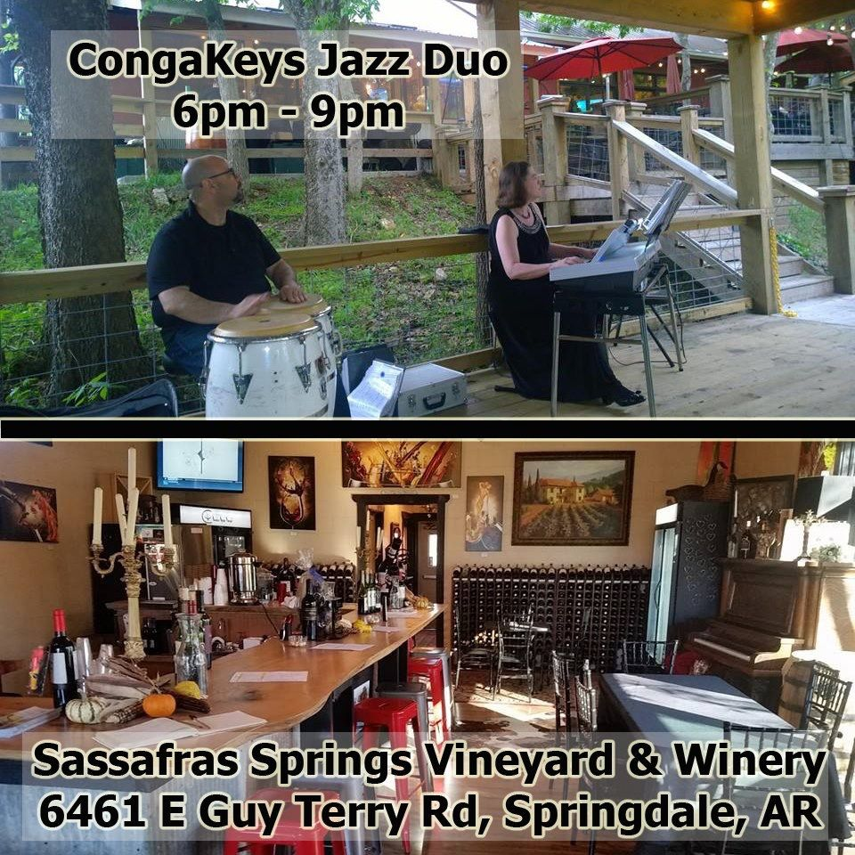 Want to sip some wine while listening to some soft Jazz? Tonight