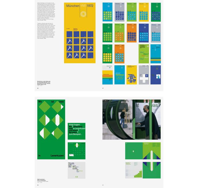 Rolf Muller Graphic Design Masters Typography Design System
