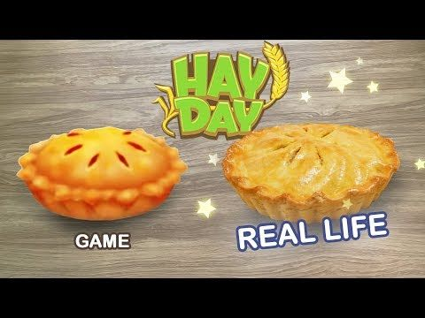 Hay Day How to make Apple Pie from Hay Day in REAL LIFE