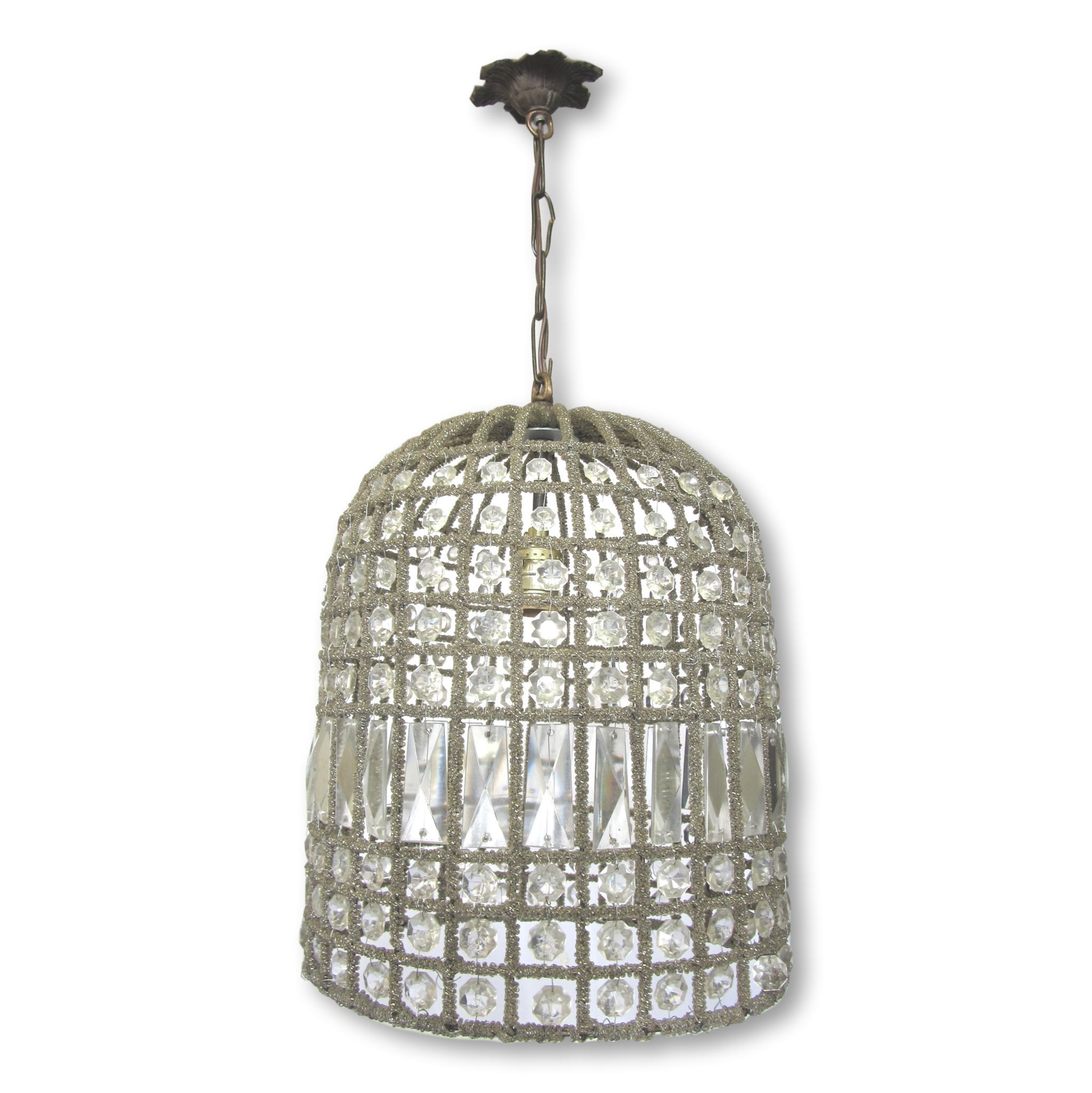 Beaded Crystal Birdcage Chandelier Products
