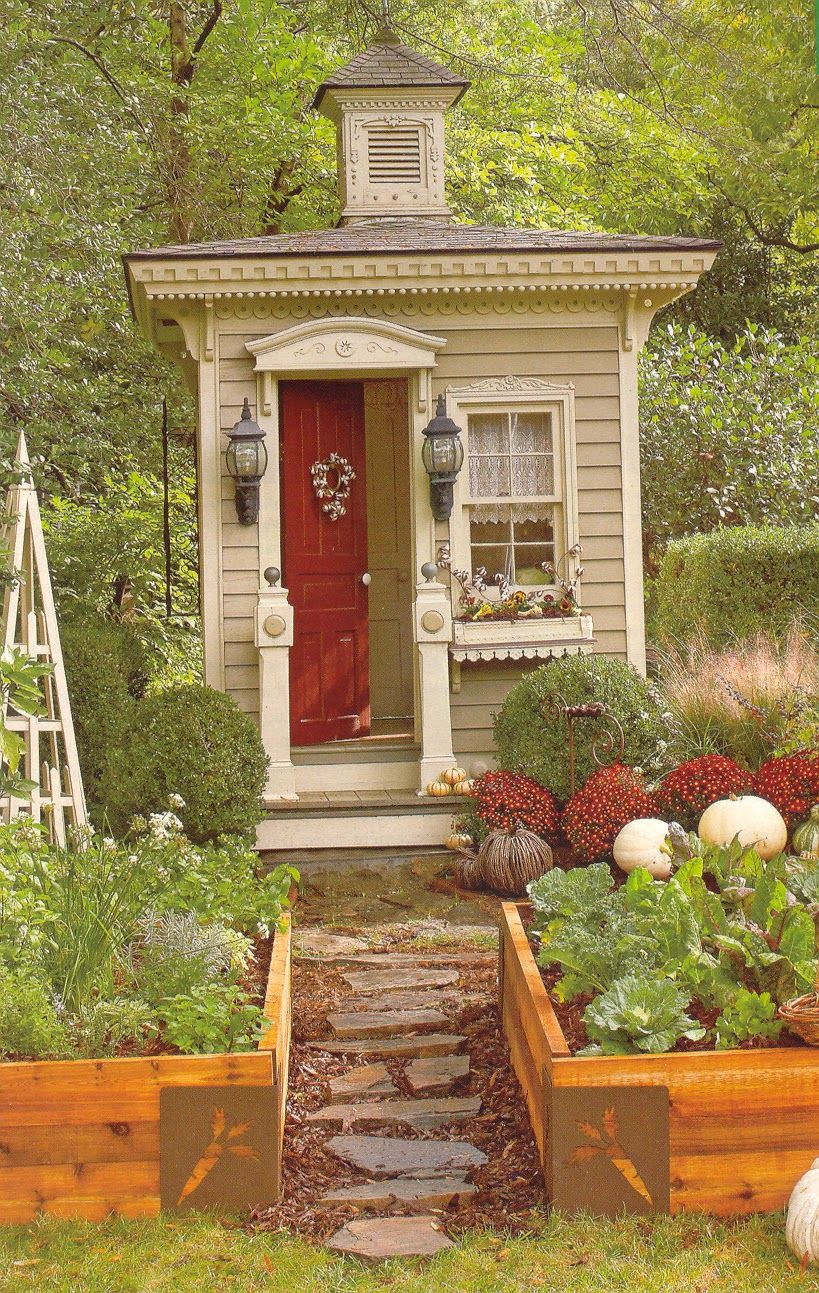 Cute Little Garden Home.