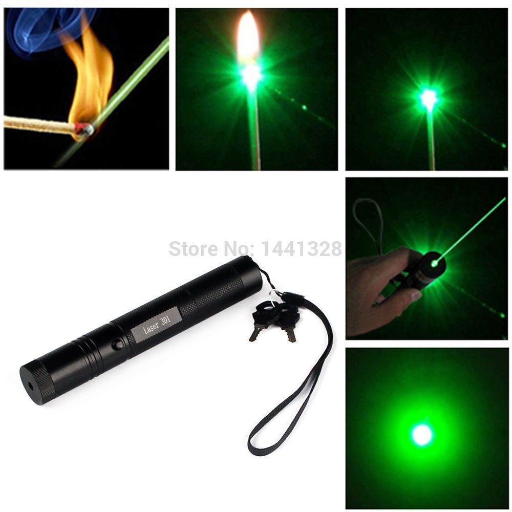 1Pcs Newest Super Strong Powerful 532nm Green Laser
