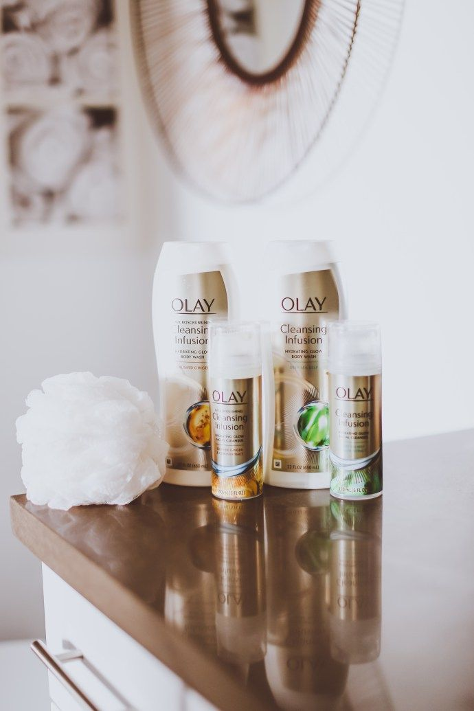 My #GlowUp Goals with Olay Cleansing Infusions | BondGirlGlam.com #sp