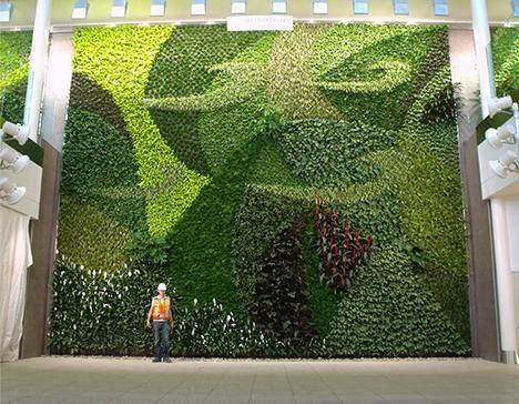 Jardines verticales artificiales en Monterrey Urbanismo - jardineras verticales