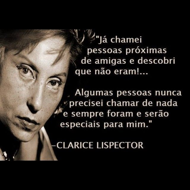 Clarice Linspector Brasil Poemas E Citações Clarice Lispector