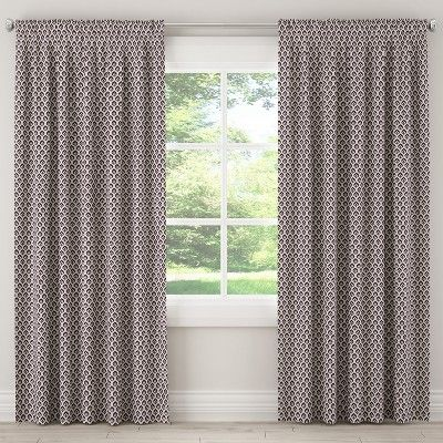 5c6047ac2db Blackout Curtain Elliot Floral Plum 108L - Cloth   Co.