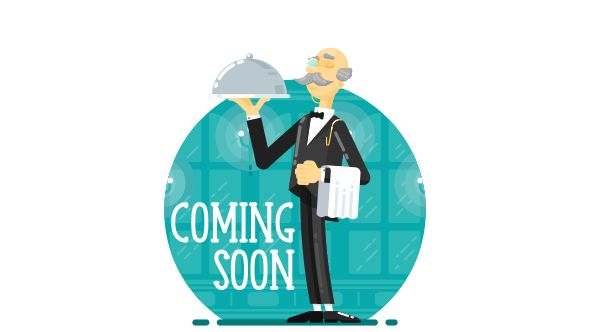svg coming soonunder construction creative page waiter