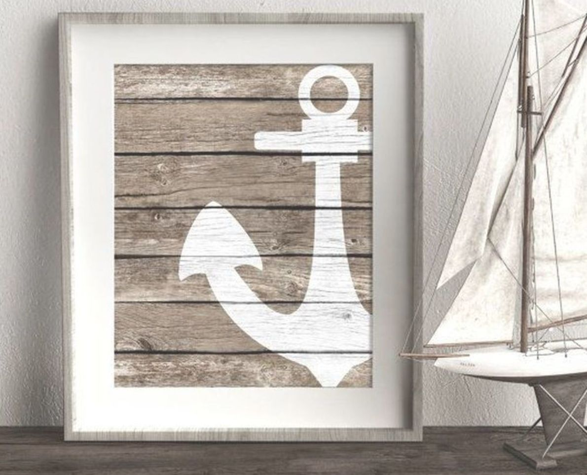 48 Awesome Nautical Wall Decoration Ideas To Get Unique Look Nautical Wall Decor Beach Wall Decor Nautical Wall
