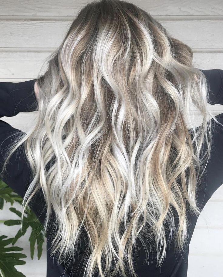Die Schönsten Light Highlights Für Blonde Haare Ombre Und