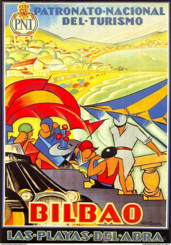 Carteles Feria: LOTE Nº 2 DE 8 LAMINAS. DIFERENTES IMAGENES 40 x 28: CARTELES FIESTAS POPULARES DE ESPAÑA. - Foto 4 - 33387198