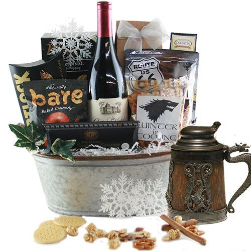 Nieuw Ultimate Game of Thrones Wine Gift Basket (With images) | Game of NU-42