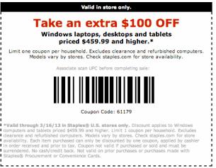 Use a Staples Promo Code to Make Extra Savings