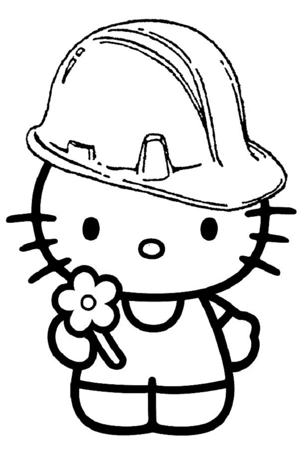 Hello Kitty Coloring Pages For Kids Hello Kitty Coloring Kitty Coloring Hello Kitty Colouring Pages