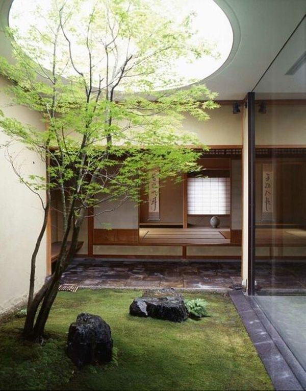 House · 15 Cozy Japanese Courtyard Garden Ideas | Home Design And Interior
