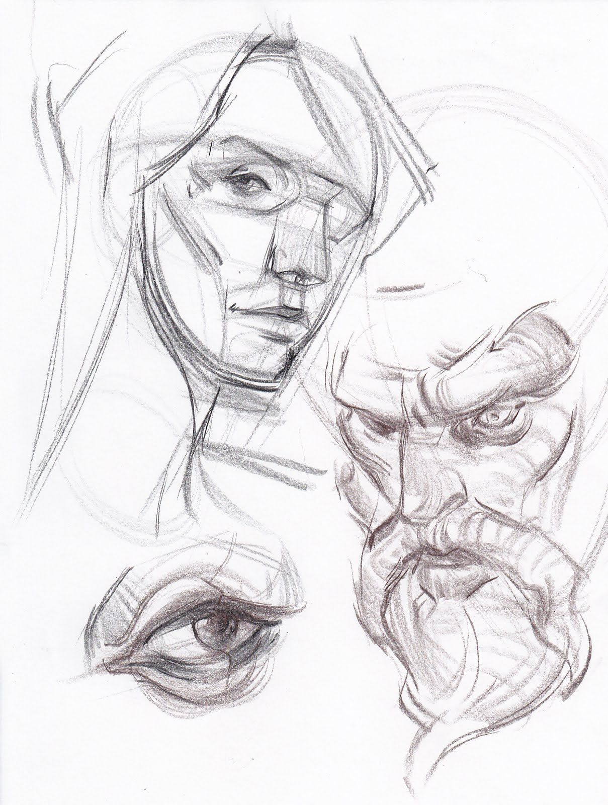 How to Draw the Head From Any Angle Stan Prokopenko&39s Blog ...