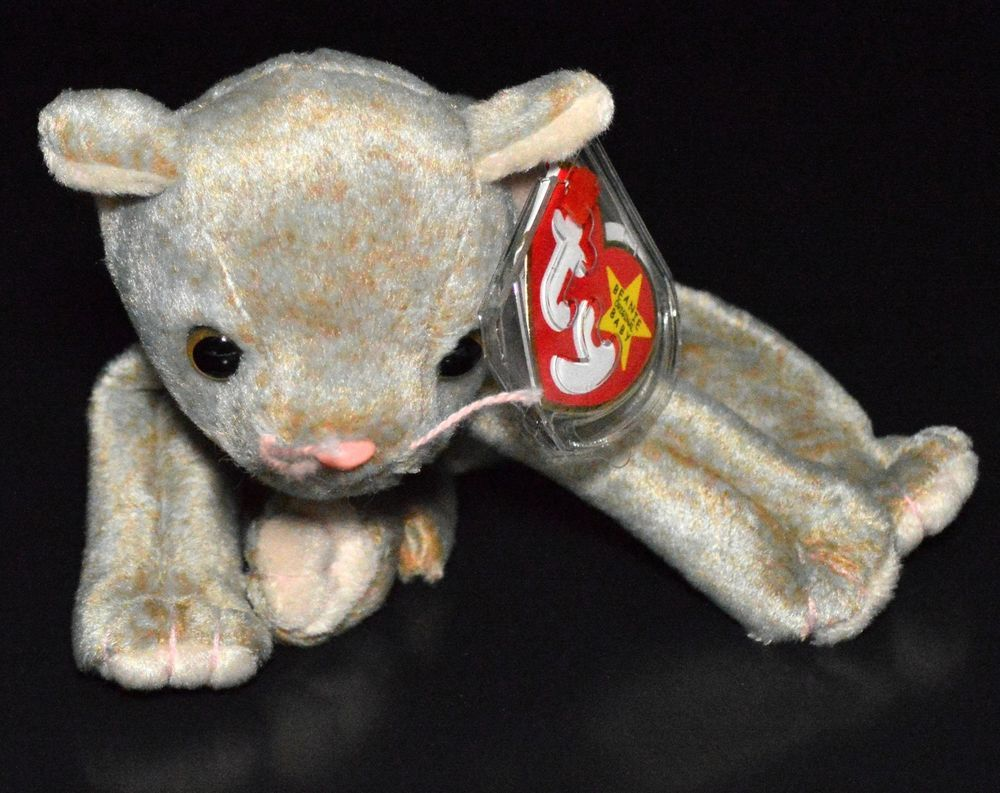 fe0316af5a3 Ty Beanie Baby  Scat the  Cat Ultra Super Rare Error Misspelling Retired  1999 MWMT  Ty