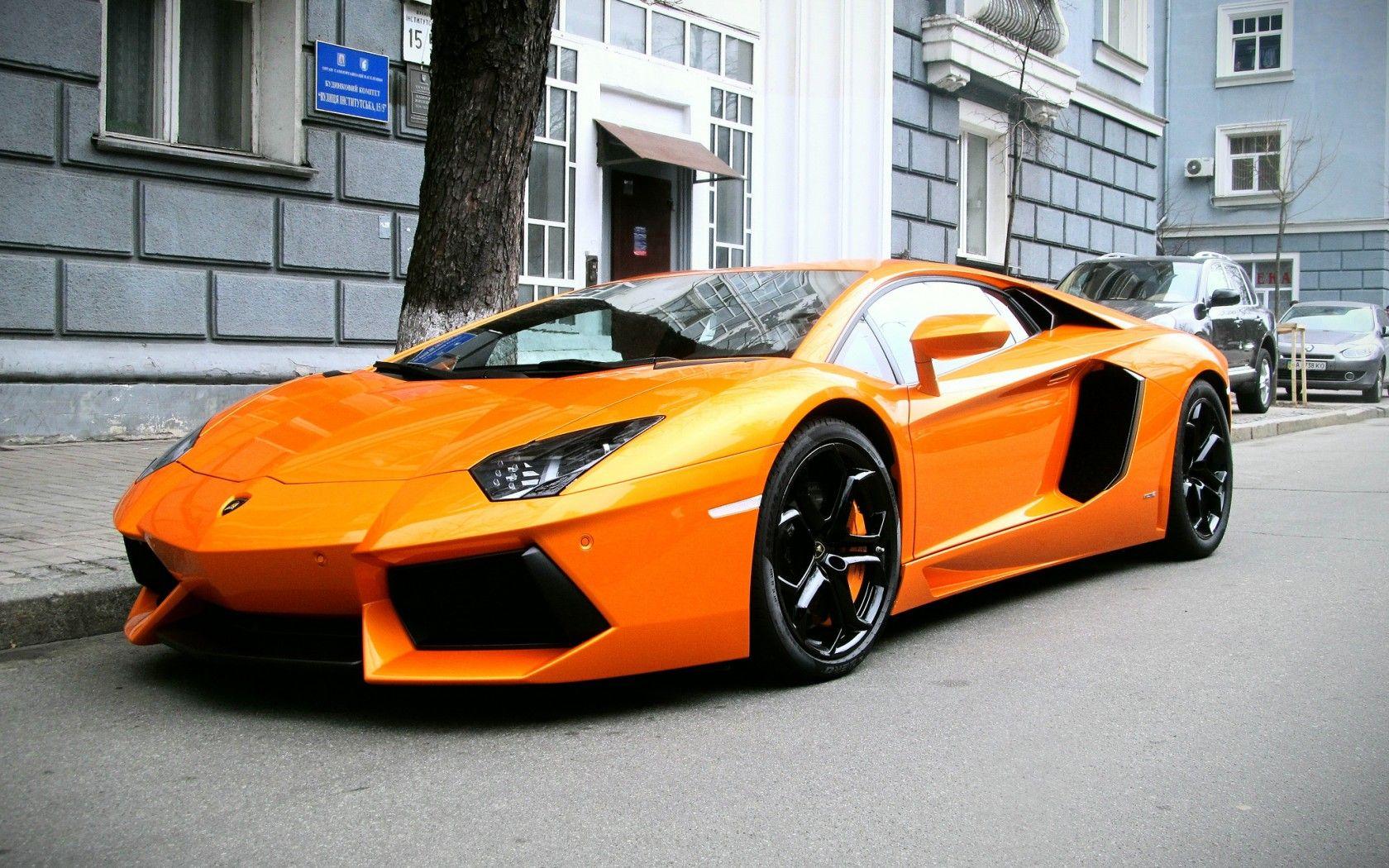 Lamborghini Aventador LP 700 4 Supercars Orange Wallpaper Background #lamborghini  Lamborghini