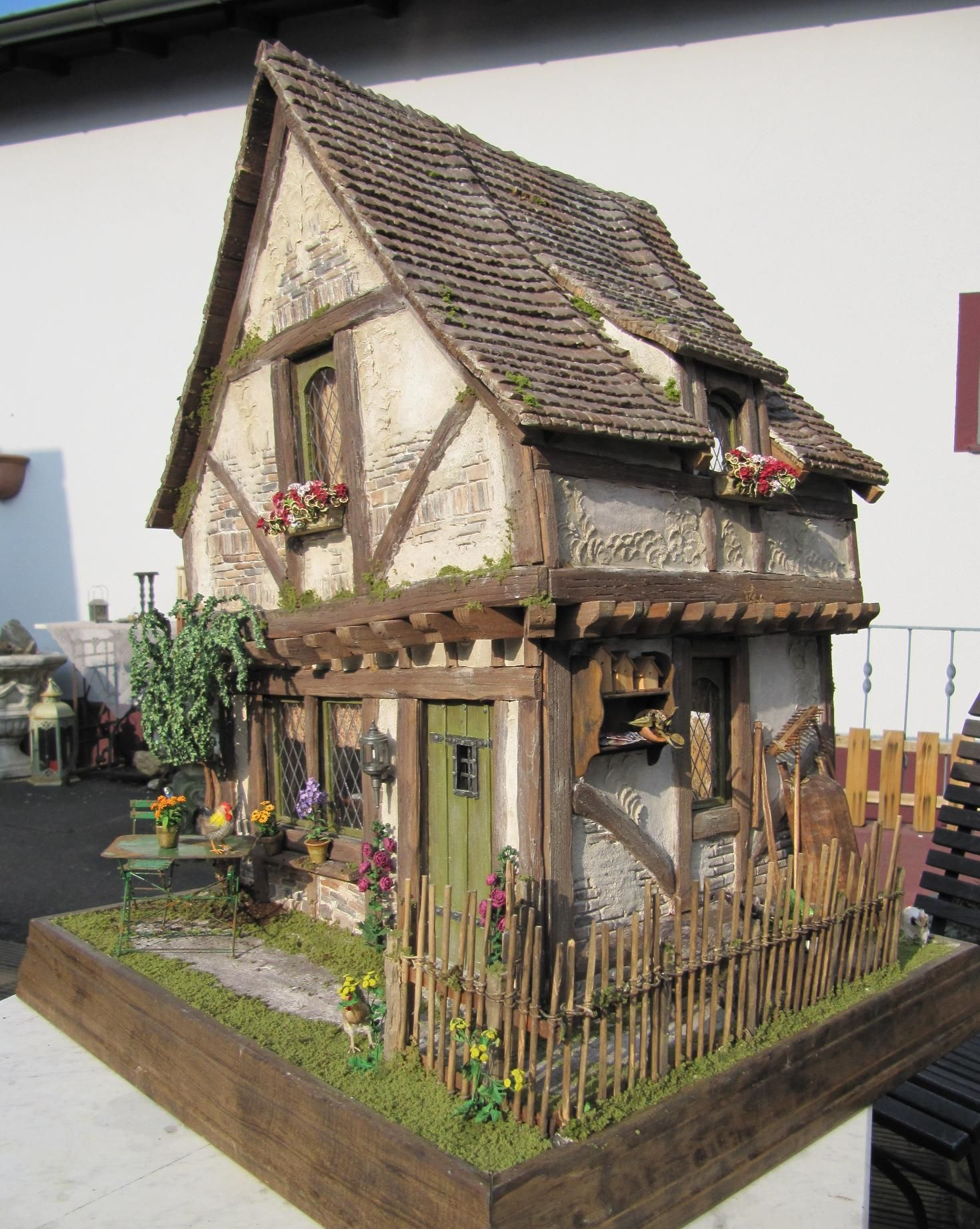 Hawaii Slanted House Design: My Privat Crooked House Done In Rik Pierce Class. All