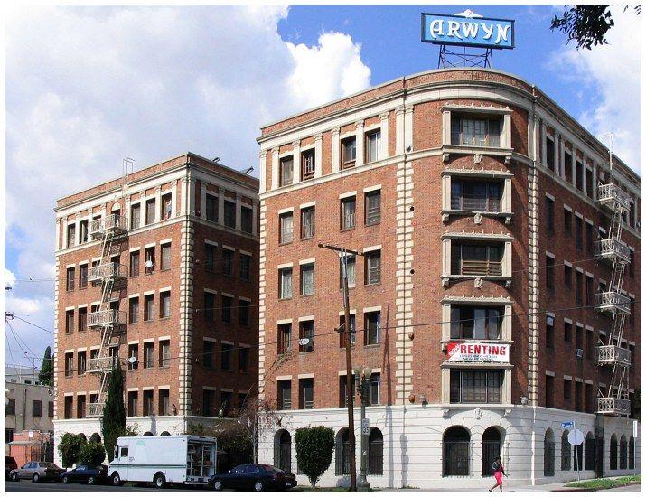 Arwyn Manor Building Los Angeles Los Angeles Vintage Los Angeles Manor Apartments