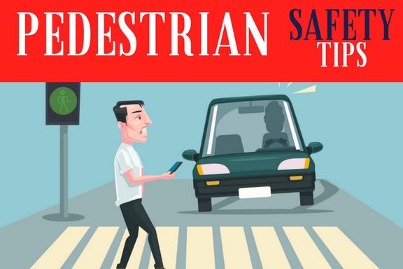 Since pedestrians have the right of way they should be more protected, but actually they are much higher at risk at a crosswalk, unless they follow these tips.