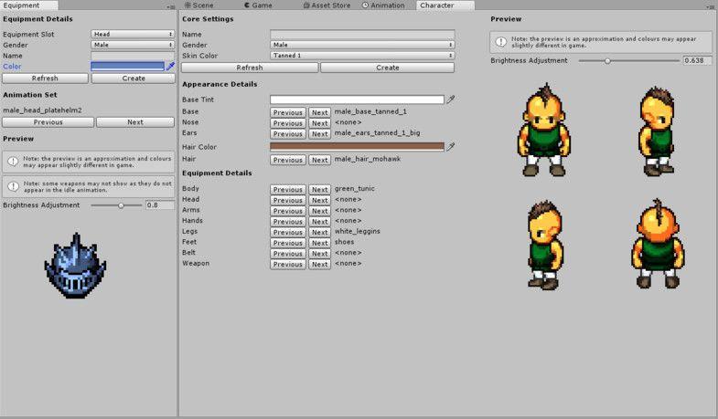 2D RPG Character Generator #Generator#Character#RPG#Management