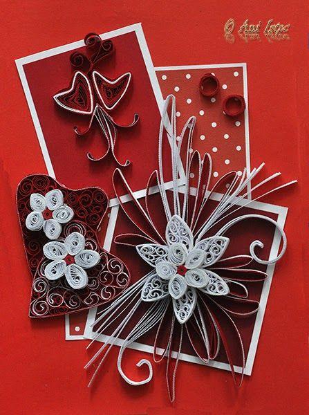 Printre hobby-uri: quilling, kusudama, origami, bijuterii ...