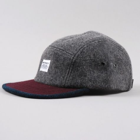 f8c7c7d2838 Norse Projects Wool 2 Tone 5 Panel - Charcoal