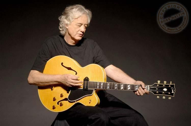 Jimmy Page with ES-350