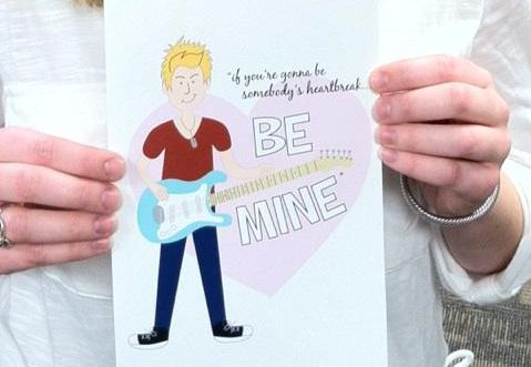 Be Mine Hunter Hayes Valentine's Day Card