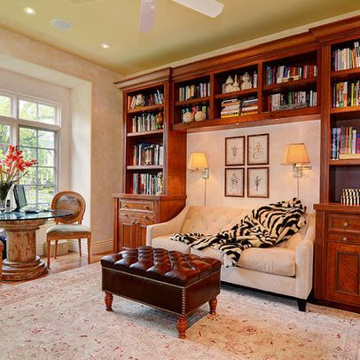 Sofa With Bookcase Design Ideas Would Have Cream Colored Bookcases Though