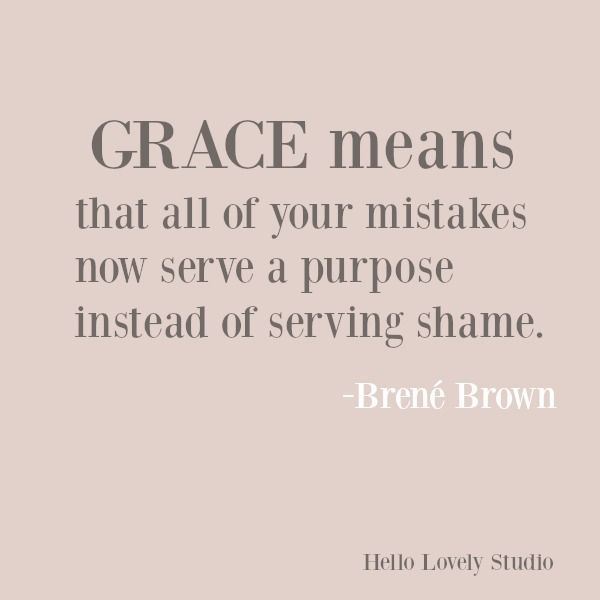 Inspirational Quote About Grace