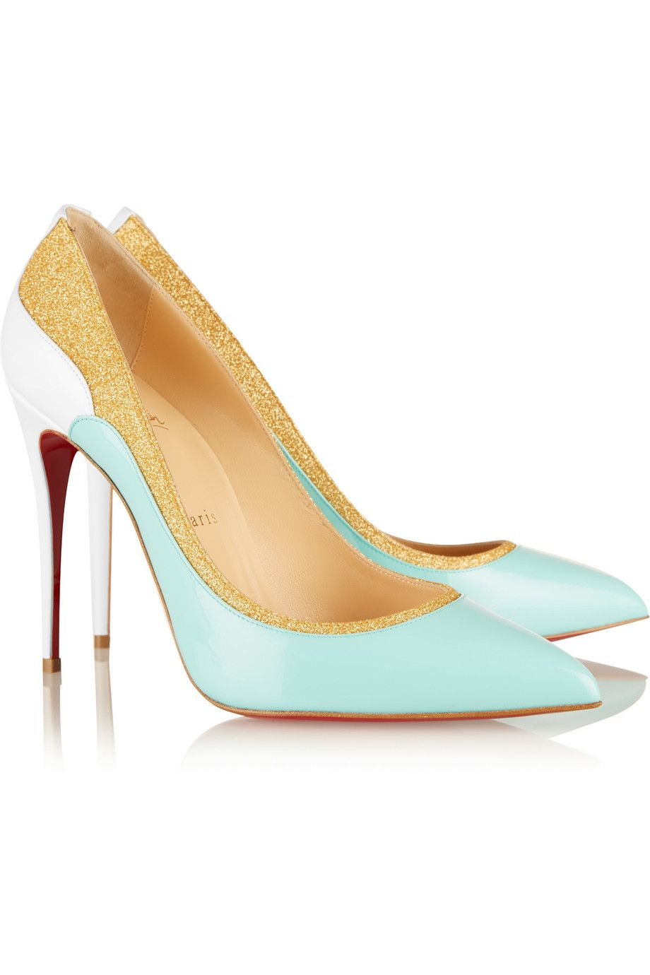 Pigalle Follies 100 Satin Pumps - Azure Christian Louboutin Clearance Explore Sale Best Store To Get Free Shipping Factory Outlet Clearance Fashionable Footlocker For Sale wxDR94bJ2