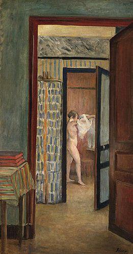 Henri Lebasque Morgentoilette (Beim Ankleiden)